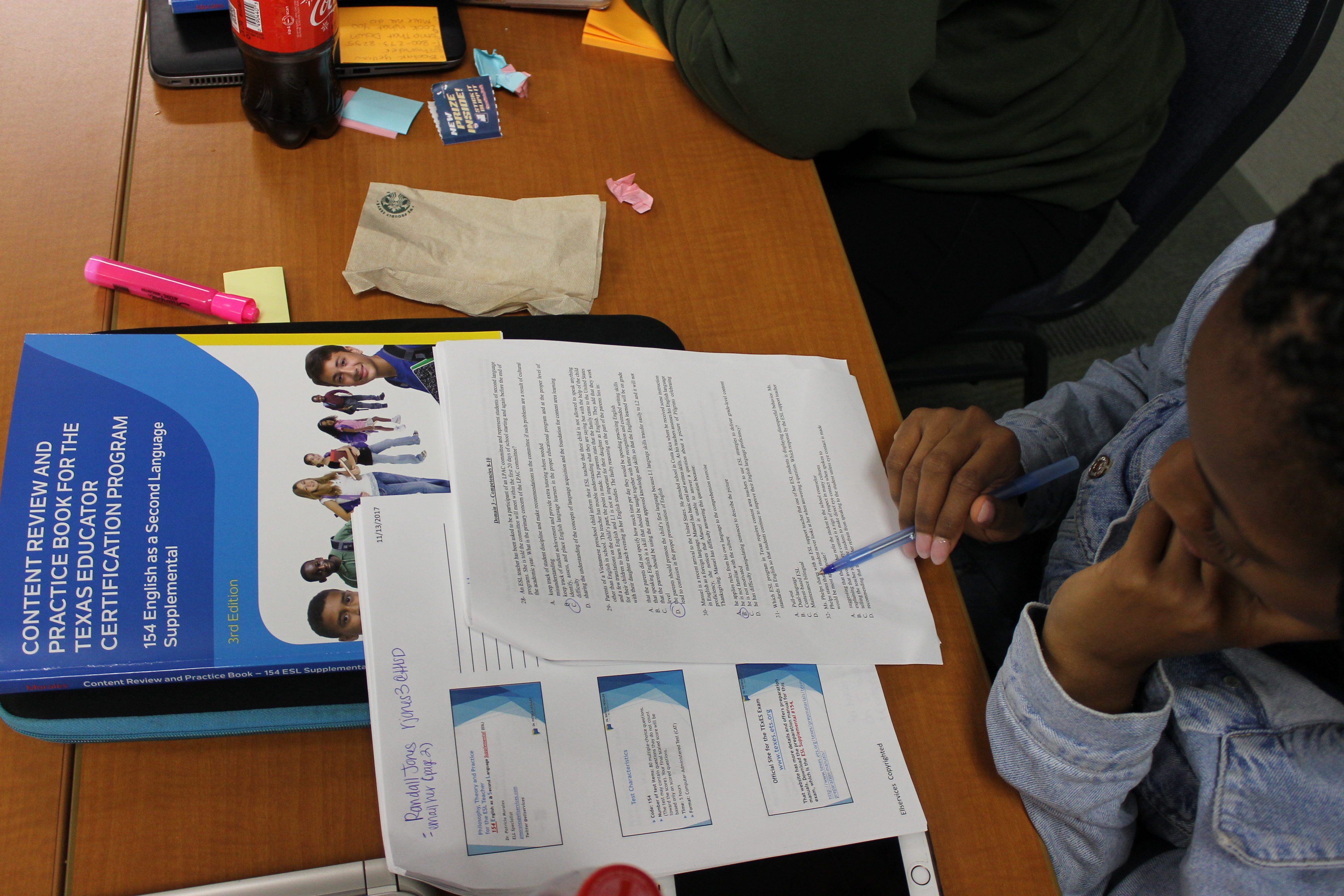 Preparing to take the texes esl supplemental examination hisd advertisements 1betcityfo Images